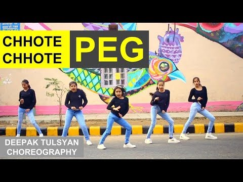 Deepak Tulsyan - Chhote Chhote Peg - Yo Yo Honey Singh  Kids Dance  Advance Choreography