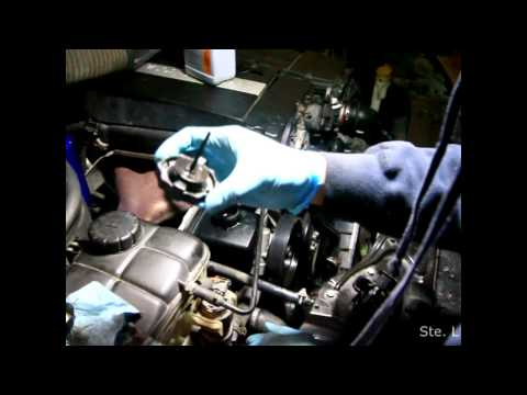 How to Replace Mercedes Benz Power Steering Pump - W203 C-Class (M271) 1.8L