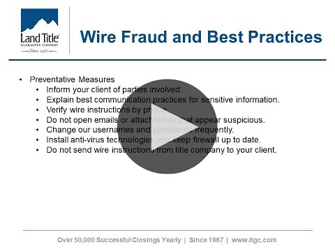 Vlog 19 Wire Fraud