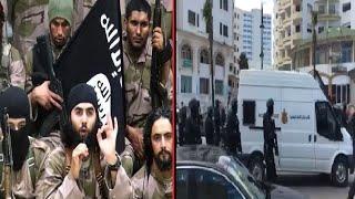 عاجــــــل أول فيديو للحظة توقيف الإرهابي التشادي الخطيربطنجة - Arrestation d