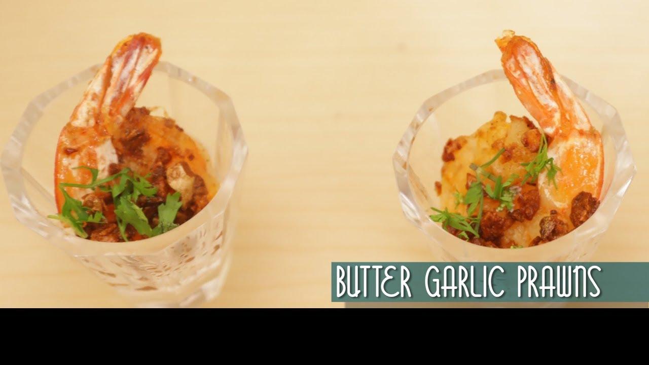 how to make prawns butter garlic