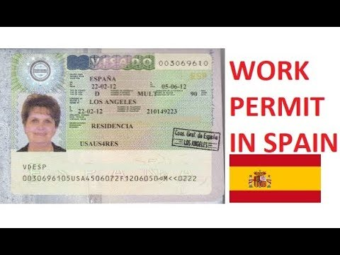 HOW I GOT MY WORK PERMIT  IN SPAIN  // 2018 // TRUSTED AND GENUINE PROCESS // BEST WEBSITES TO JOB