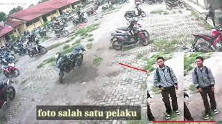 Pencurian 2 motor di SMK N 5 JEMBER