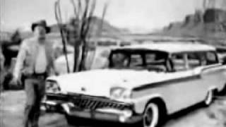 1959 Ford Station Wagon Commercial