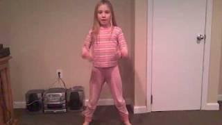 Disturbia danced by cute little girl
