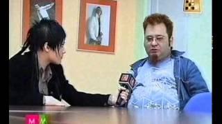 Роман Трахтенберг Интервью для Первого музыкального телеканала Беларусь 2006 г