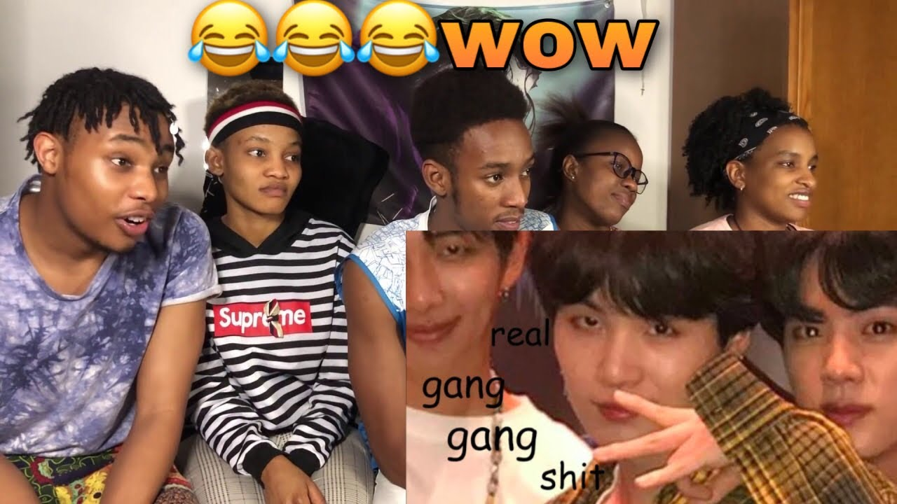 AFRICANS REACT TO BTS BEING EXTRA AF IN AMERICA