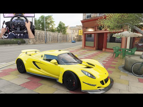 Hennessey Venom GT – Forza Horizon 4 | Thrustmaster T300RS