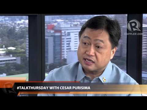 #TalkThursday: Cesar Purisima on PH's investment grade (Part 1)