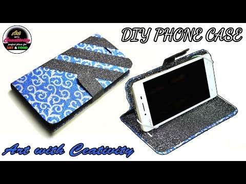 Make phone cases at home | DIY | Art with Creativity 186