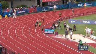 Olympic Track And Field Trials | 41-Year-Old Bernard Lagat Takes Thrilling 5,000-Meter Final