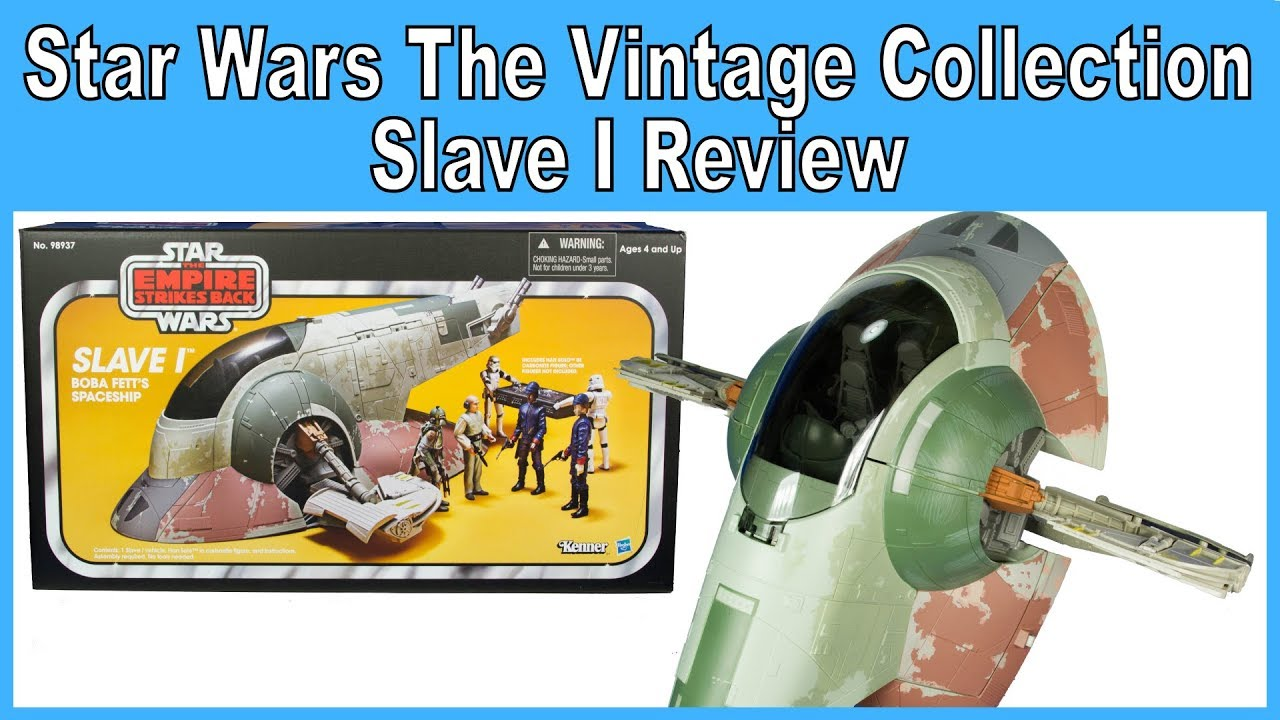 Star Wars The Vintage Collection Slave I Review Amazon Exclusive 2013 Youtube