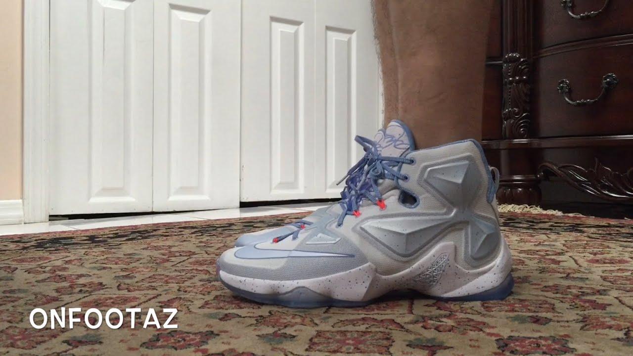 ef4af9e83f67 Nike Lebron 13 XIII Christmas On Foot - YouTube