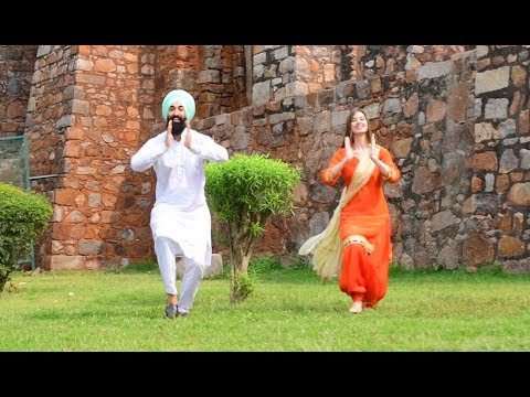 KAMLI | MANKIRT AULAKH | Bhangra By Christine & Rajvatan Singh
