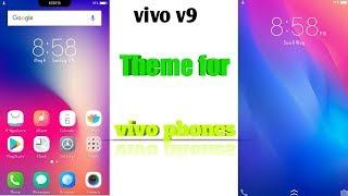 Vivo v9 theme for vivo v5, v5s, v5 plus, v7, vivo v7 plus, vivo y69, vivo  y53 by TG Advice