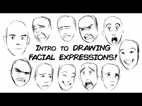 Drawing Genuine Facial Expressions (Part1)