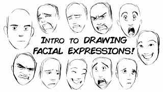 Drawing Genuine Facial Expreṡsions (Part1)