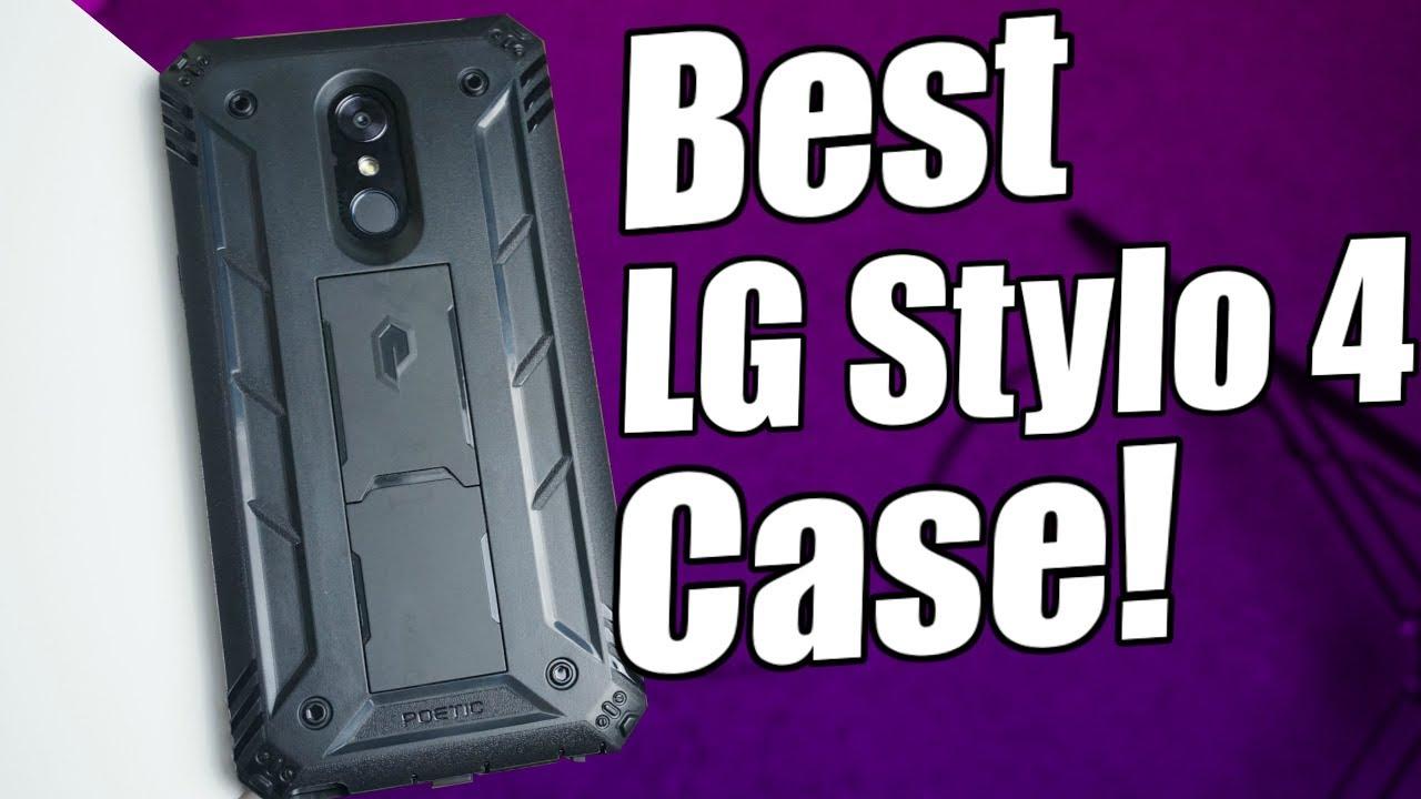 detailed look 69ea1 81934 LG Stylo 4 | Poetic Revolution Case!