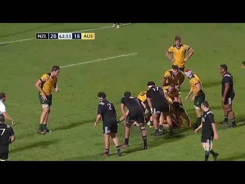 Quick thinking from Vilimoni Koroi leads to sensational All Blacks U20's try Rugby Videos
