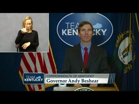 Gov. Beshear Announces That Kentucky Surpasses 100,000 Cases Of COVID-19