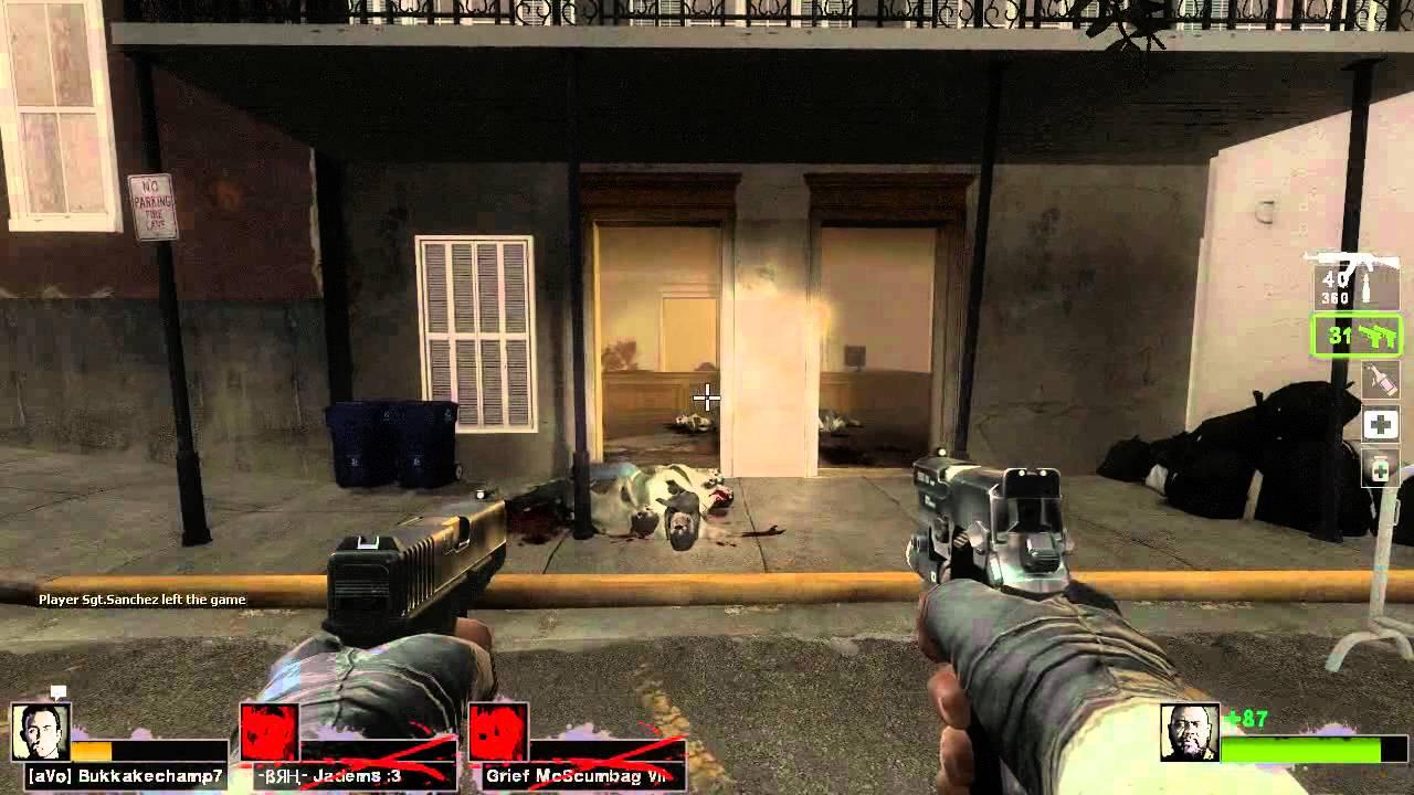 Left 4 Dead 2 Griefing - 30,000 Damage Pistol | Team