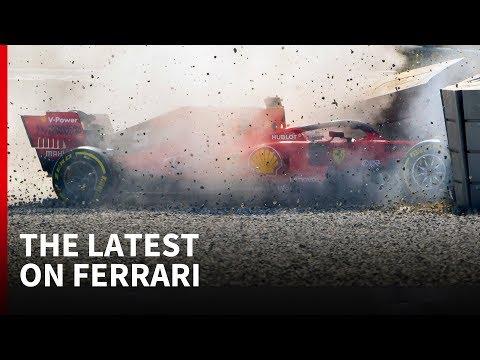 Vettel crashes, but Ferrari has reasons to be 'very confident'