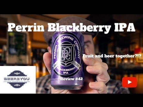 Beer review: Perrin Blackberry IPA