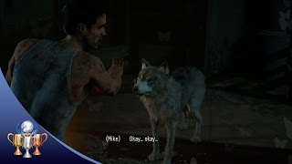 Until Dawn (Secret Trophy) The Skilful Wolf Man - Kept the wolf alive throughout the Sanatorium