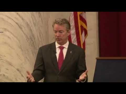 Rand Paul's BRILLIANT Speech on Libertarianism