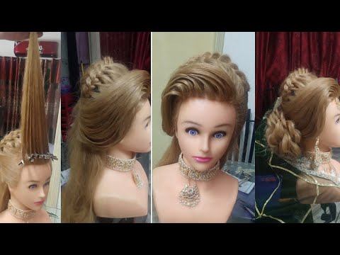 wedding-hairstyle-tutorial-  -puff-hairstyles-  -side-puff-hairstyles