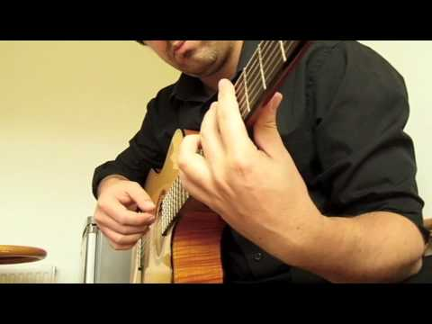 Song for whoever - Beautiful South played / Classical Guitar
