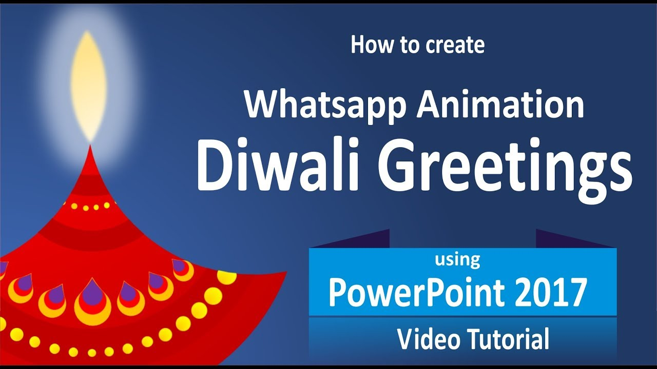 How to create diwali wishes animated greetings video with deep how to create diwali wishes animated greetings video with deep powerpoint tutorial by enjoy art kristyandbryce Image collections