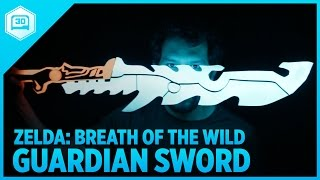 3D Printing Zelda: Breath of the Wild – Guardian Sword++ #3DPrinting #Adafruit #Nintendo