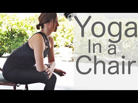 9 Minute Yoga in a Chair With Fightmaster Yoga