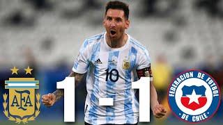 Argentina vs Chile [1-1], Copa America 2021 - MATCH REVIEW