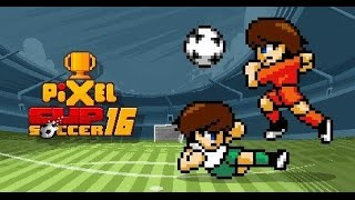 PIXEL CUP SOCCER 16 iOS / Android Gameplay Trailer