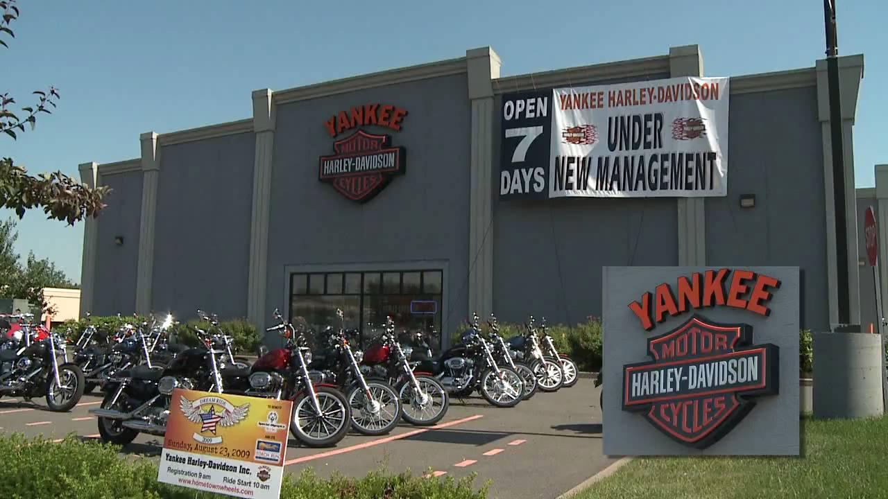Yankee Harley-Davidson Bristol, CT - YouTube