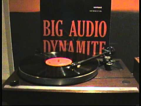 BIG AUDIO DYNAMITE contact (Vynil 1989)