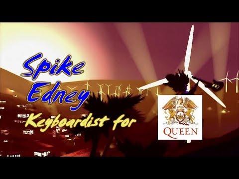 QUEEN Keyboardist SPIKE EDNEY on Coachella Valley Music Show!