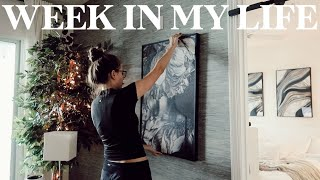 BUSY Week In My Life   work, going out for halloween, & new house decor