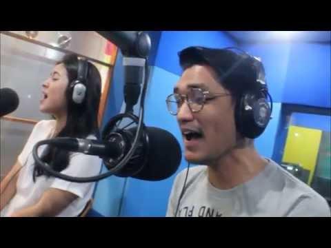 AFGAN & RAISA NYANYI PERCAYALAH DI STUDIO JAK FM