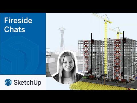 SketchUp for Construction – Rachel Robinson | The Fireside Chat Series Season 2 Ep. 7