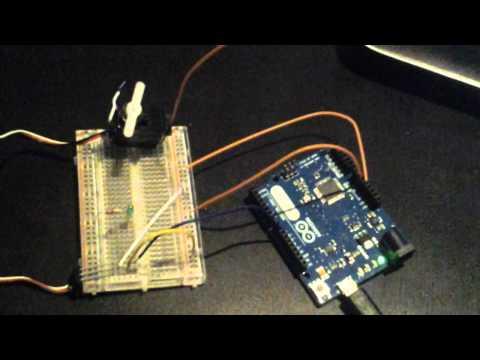 Servo testing - Arduino Project