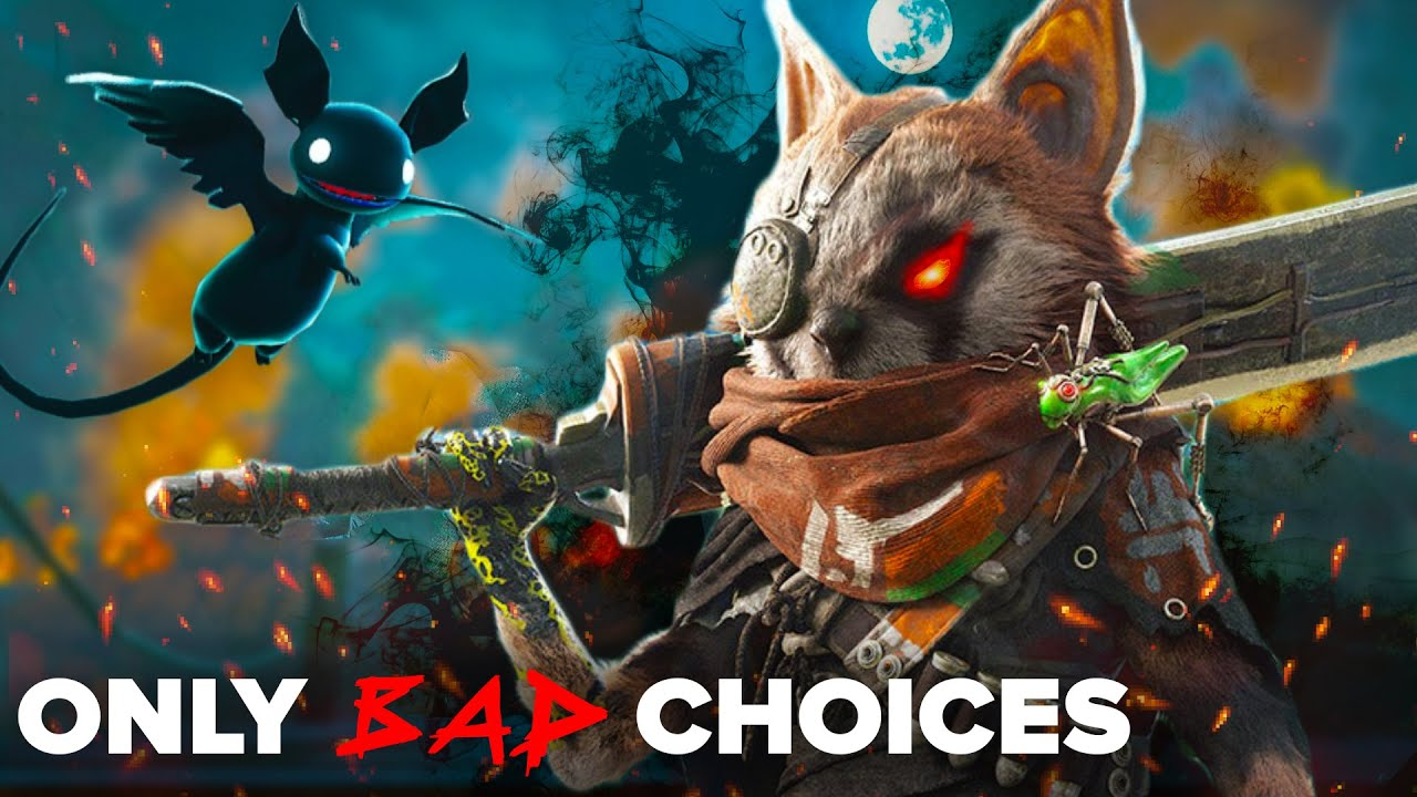 I Only Made Bad Choices In Biomutant