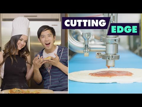 Pizza Robots EXIST! Jimmy + Ashley Investigate  Food Network