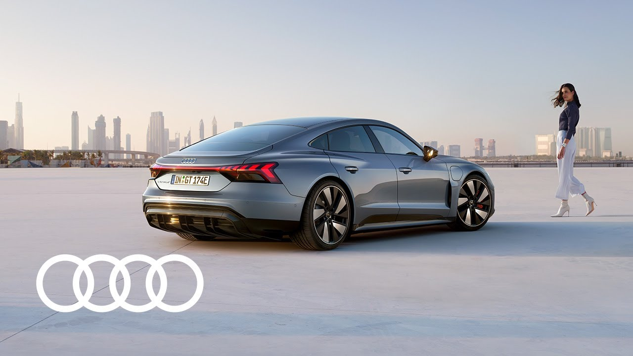 Audi Rs E Tron Gt Ideas Start The Future Youtube