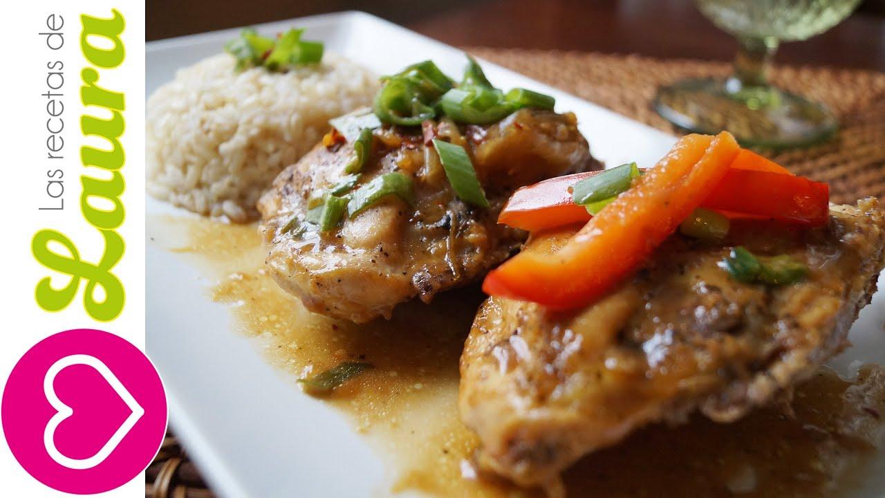 Como hacer pollo a la naranja comida saludable recetas for Preparar comida