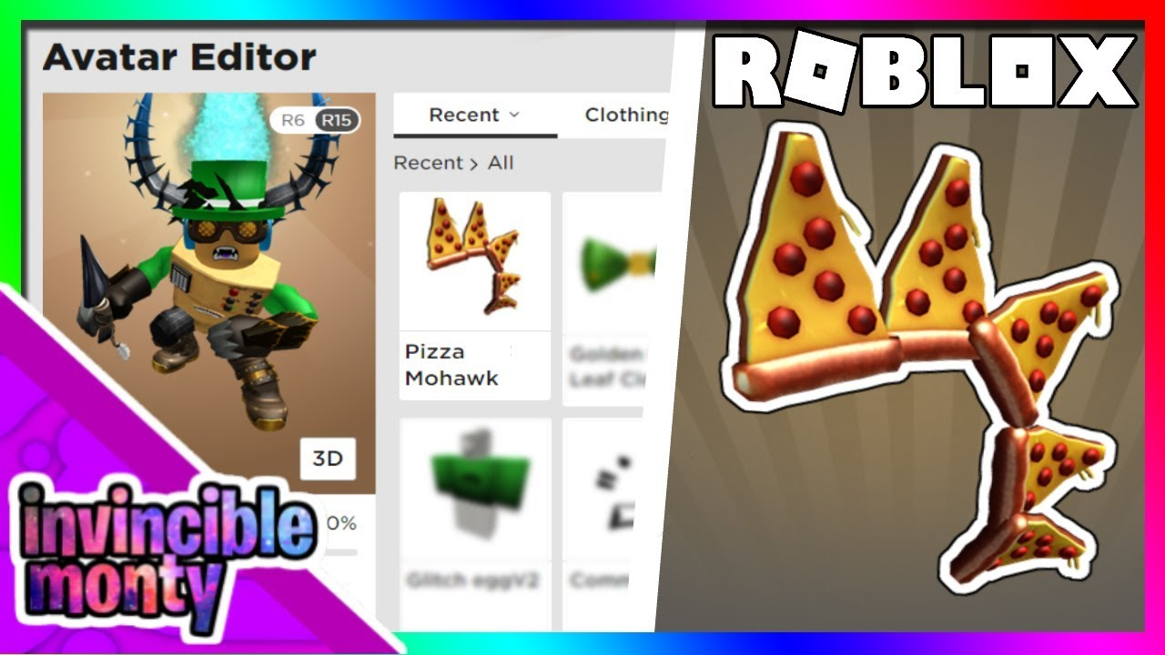 Event How To Get The Pizza Mohawk Roblox Pizza Party Event