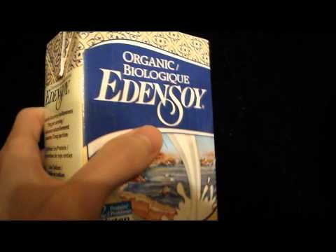 Review of Organic Biologique edensoy Eden Soy milk dairy alternative unsweetened
