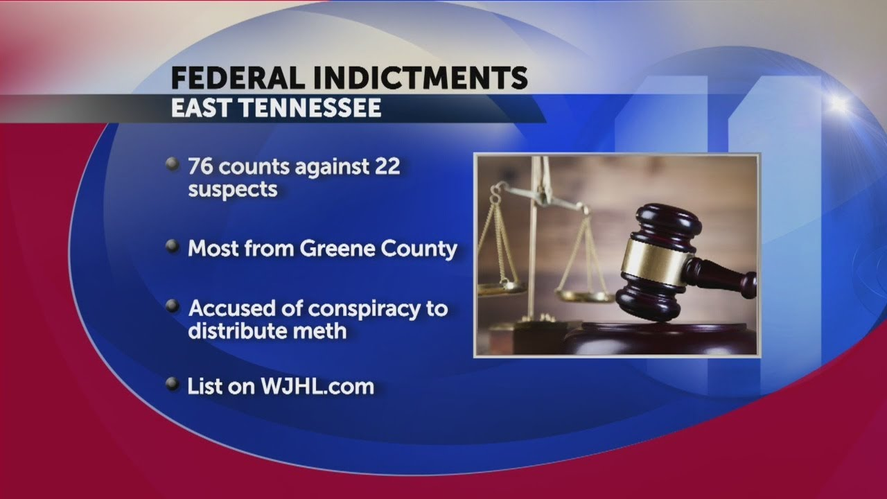 Several from Greene County indicted in meth distribution case